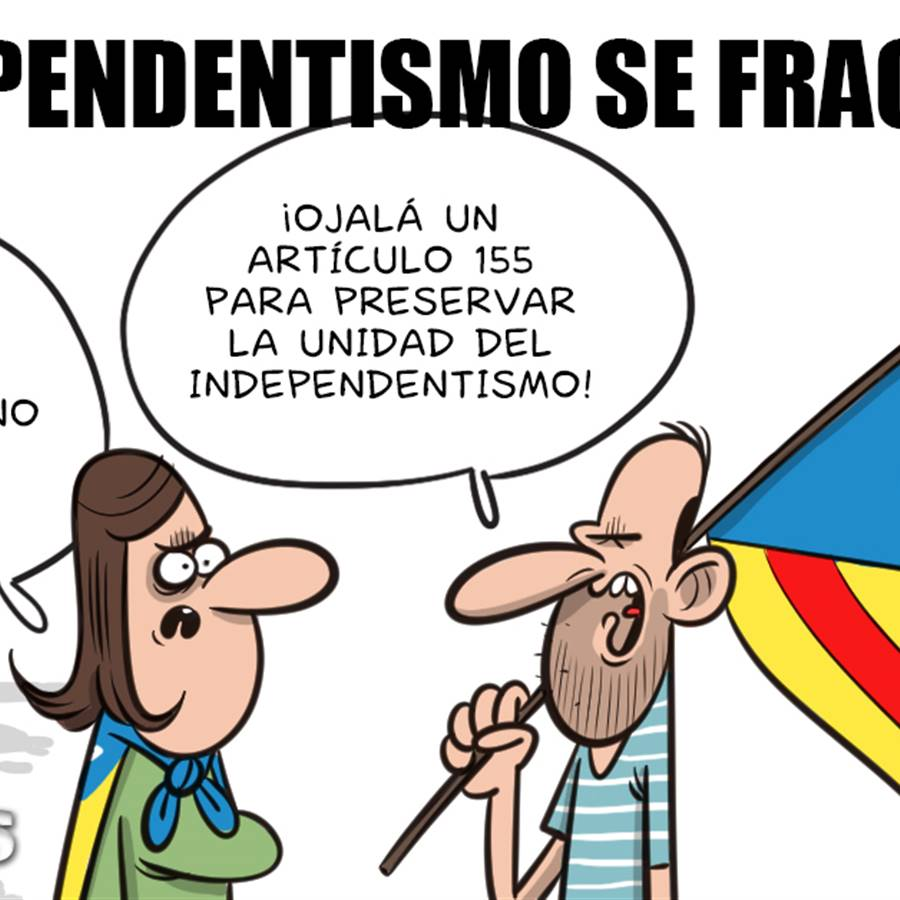 El independentismo se fragmenta