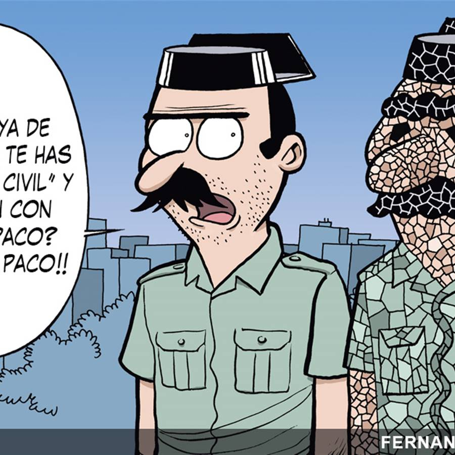 Ponlechiste Guardia Civil
