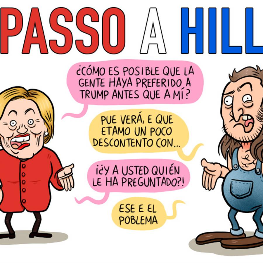 Sorpasso a Hillary