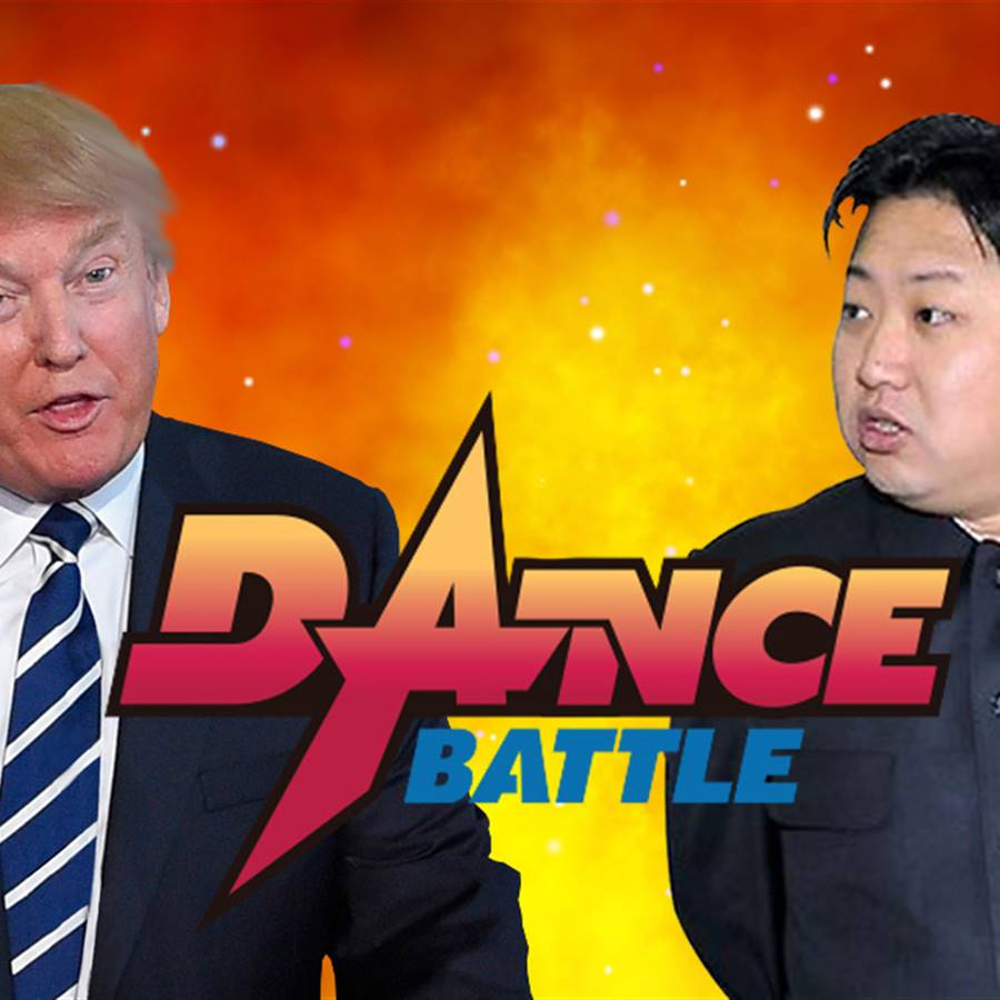 Trump vs kim jon un
